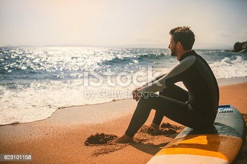 istock Watching the waves 623101158