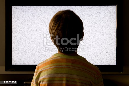 In front of tv everyday