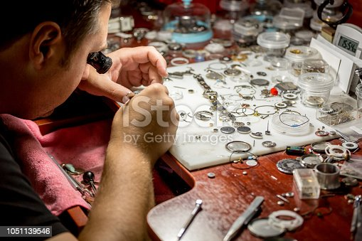 Watch, Gear, Wristwatch, Jewelry, Watching, Machine Part, Magnifying Glass