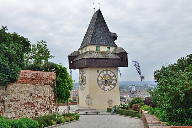 Watchtower in Graz / Styria / Austria stock photo