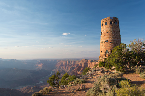 Old tower at the Grand Canyon.