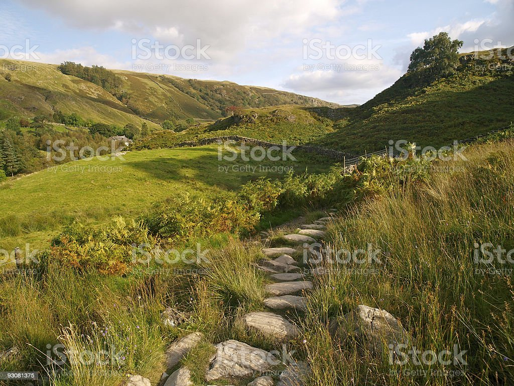 Watendlath - Lake District, UK royalty-free stock photo