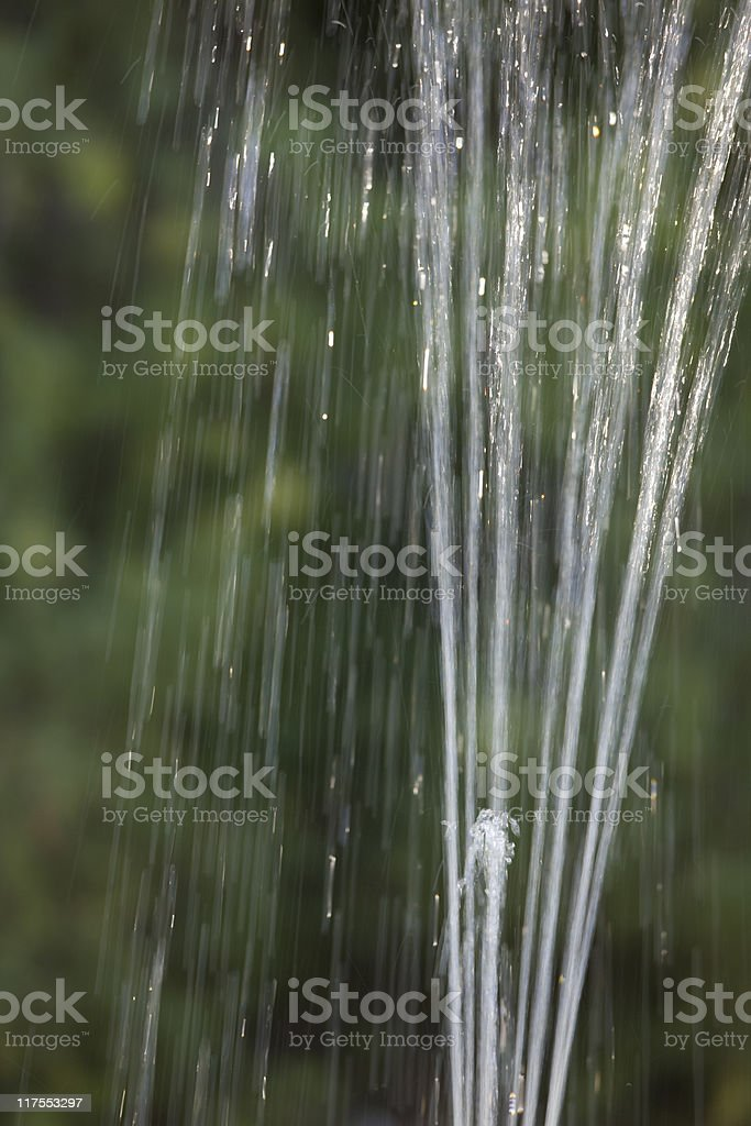 Water Abstract, Fountain, Blur, Motion, Background, Pattern, Shallow Depth-of-Field royalty-free stock photo
