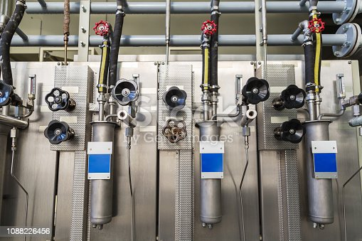 Water and steam quality control unit in the power plant