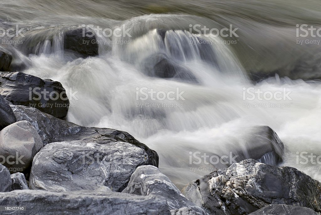 Water and stone royalty-free stock photo