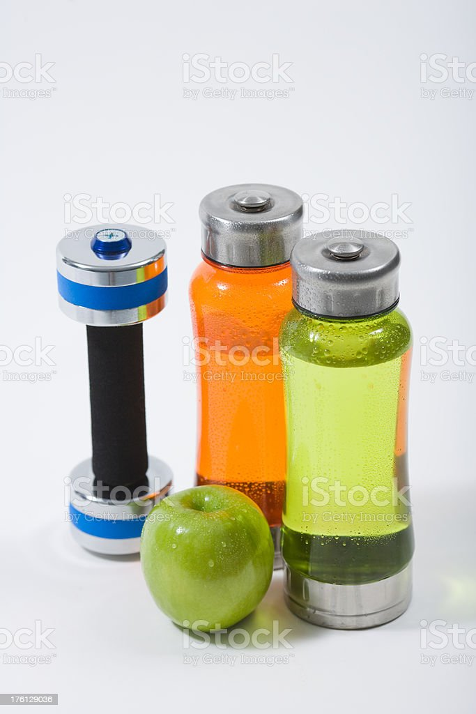 Water Apple Dumbbell royalty-free stock photo
