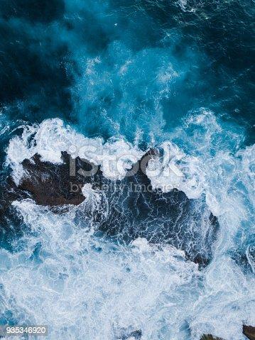 istock Water around rock 935346920