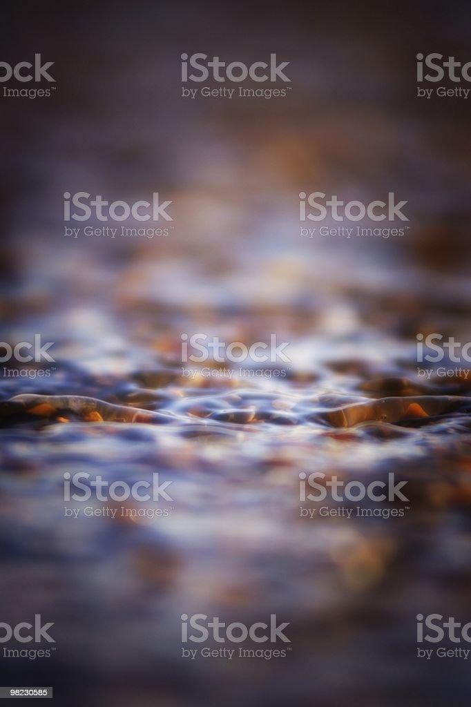 Acqua in vetro. foto stock royalty-free