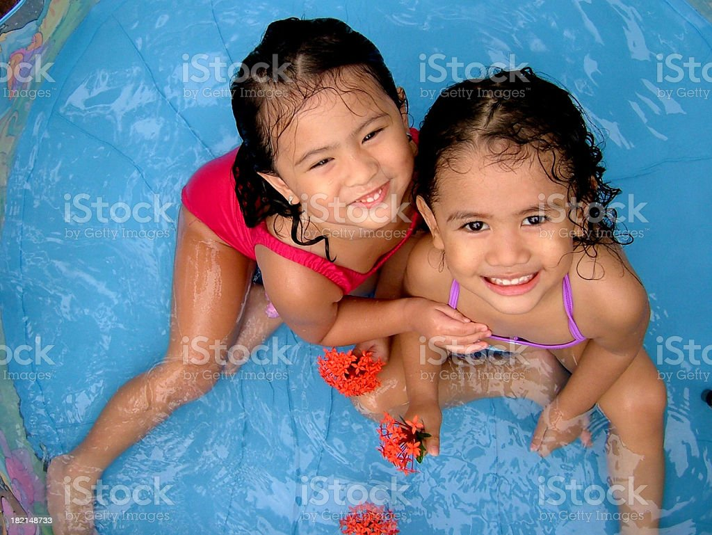 water babies royalty-free stock photo
