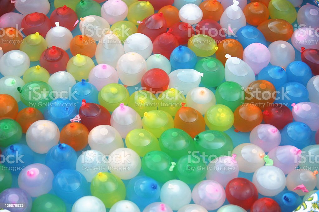 Water Ballons a Plenty stock photo