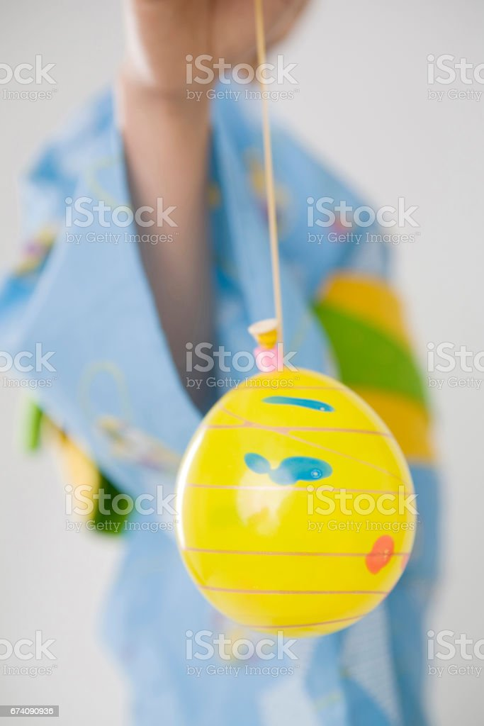 Water balloon royalty-free stock photo