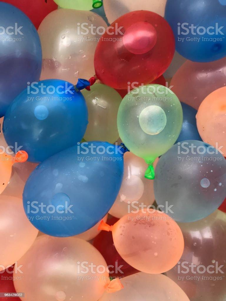 Water Baloons - Zbiór zdjęć royalty-free (Balon)
