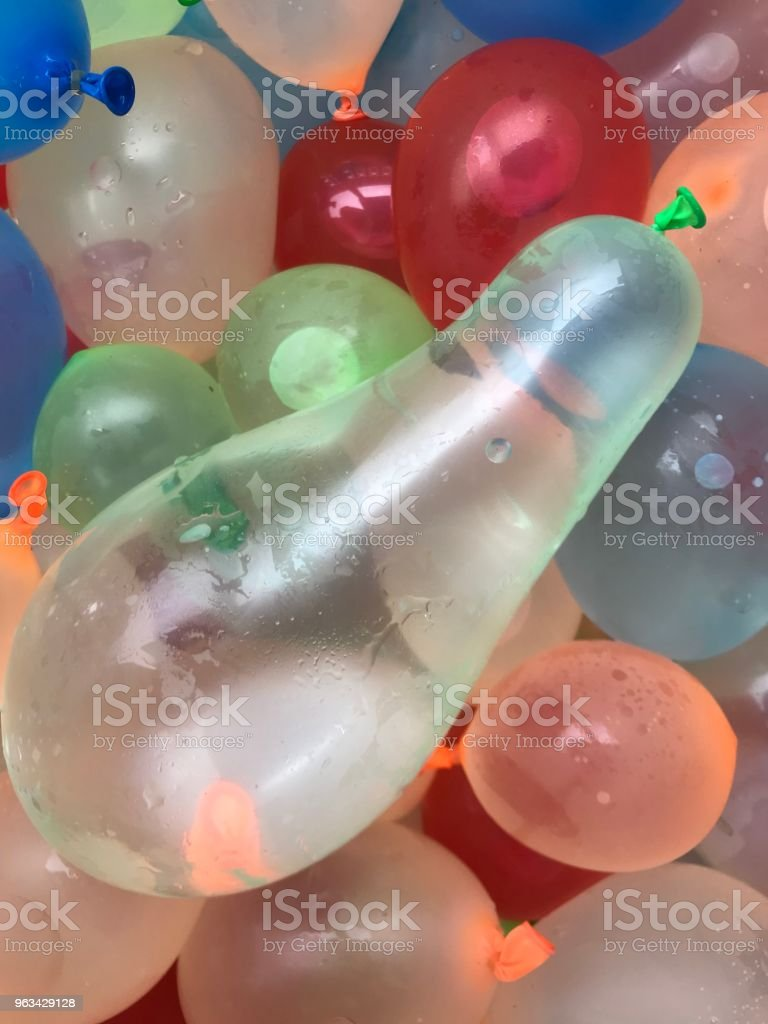 Vatten Baloons - Royaltyfri Ballong Bildbanksbilder