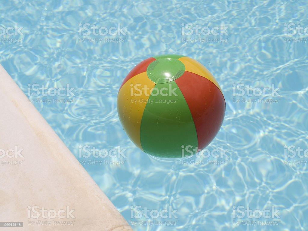 water beach ball royalty-free stock photo
