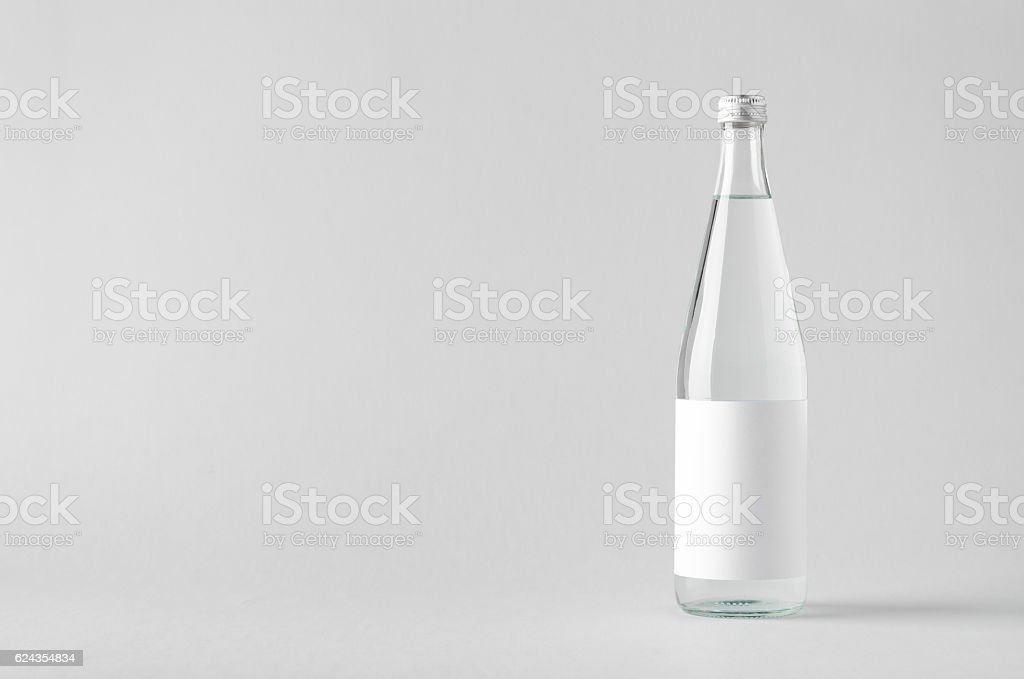 Water Bottle Mock-Up - Blank Label – zdjęcie