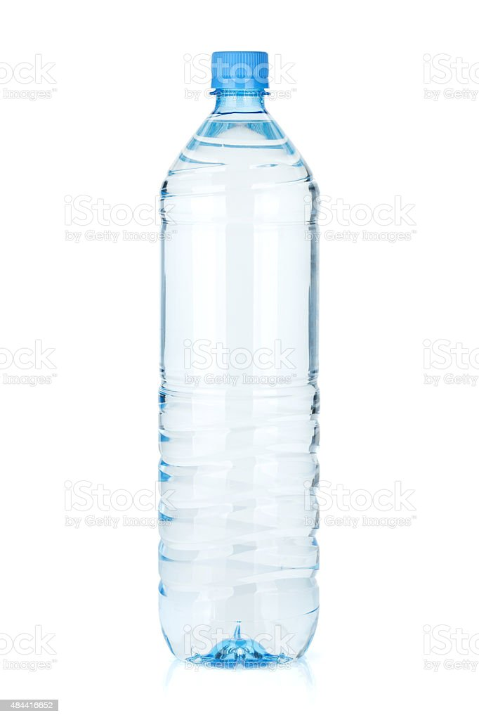 Water bottle stock photo