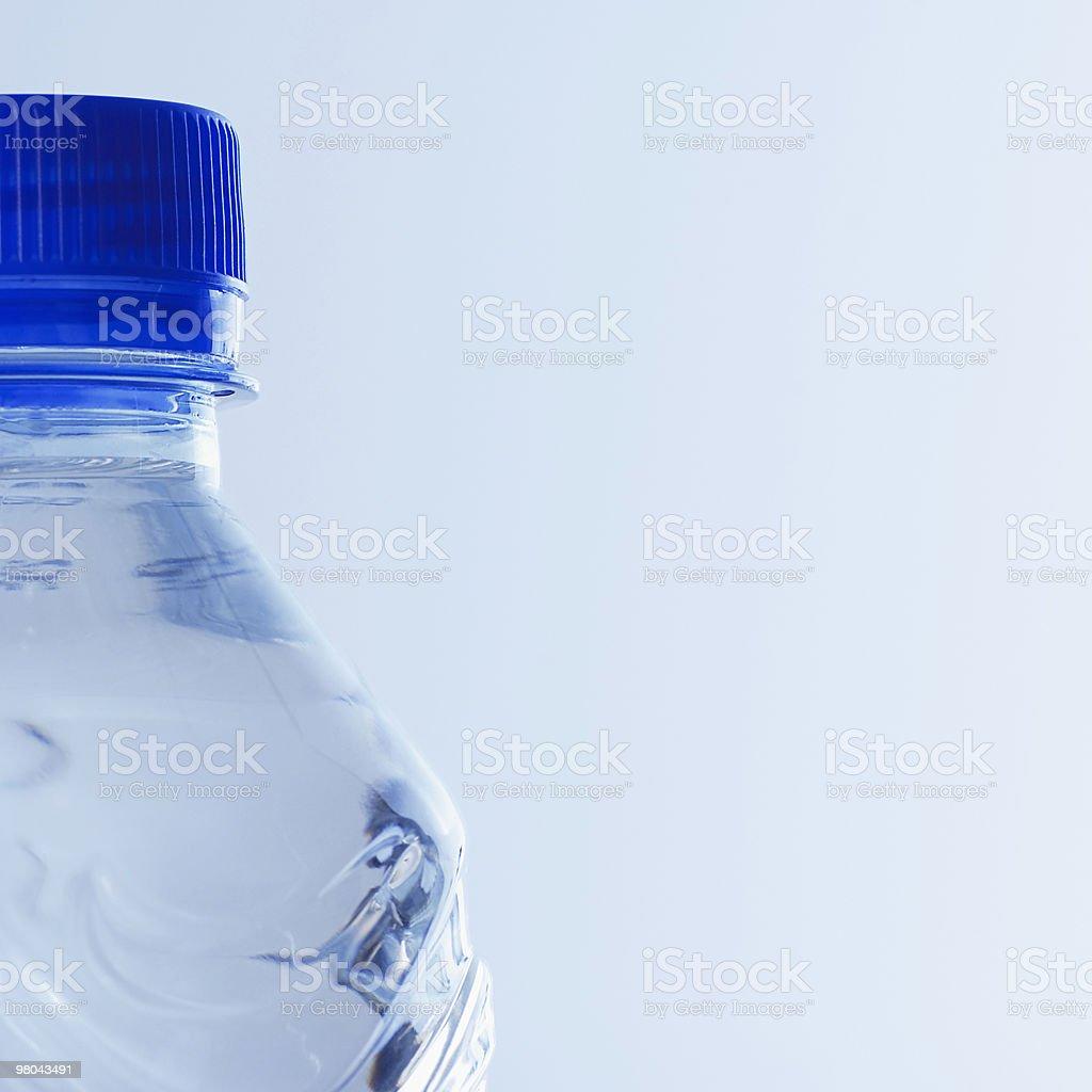Bottiglia d'acqua foto stock royalty-free