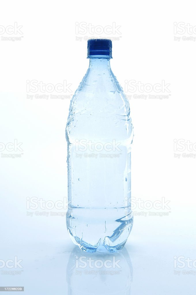 Water Bottle with Path royalty-free stock photo
