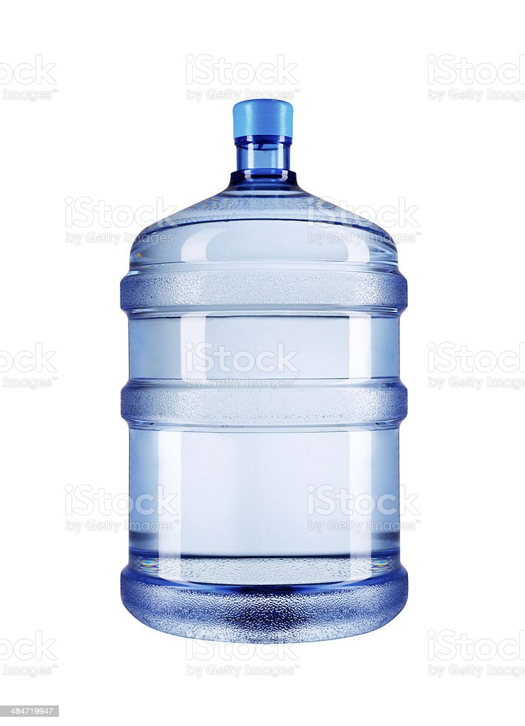 Water Bottle+Clipping Path stock photo