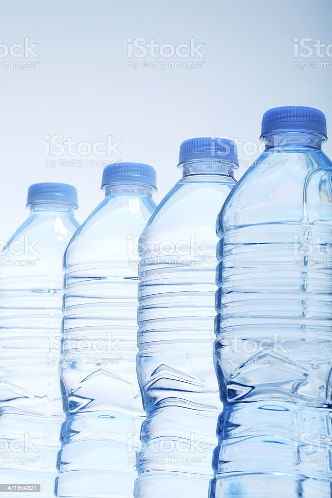 water bottles royalty-free stock photo