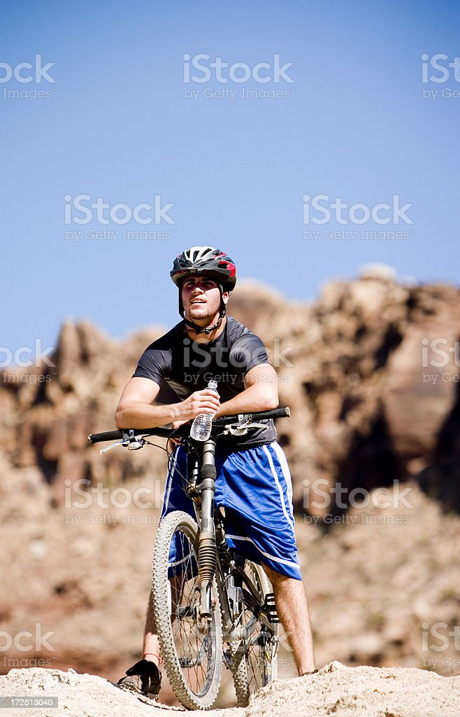 Water Break royalty-free stock photo
