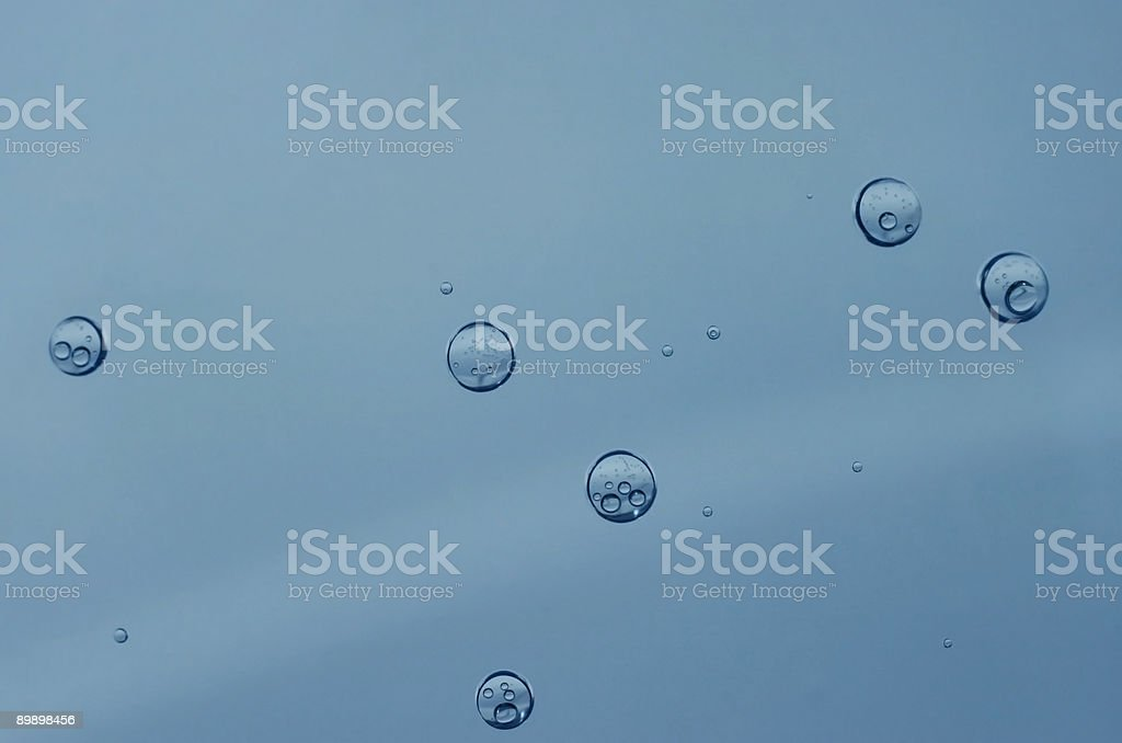 Water bubbles royalty-free stock photo