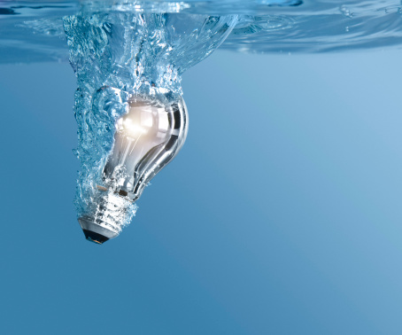 Water Bulb Stock Photo - Download Image Now