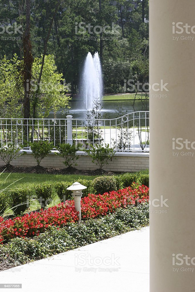 Water Burst royalty-free stock photo