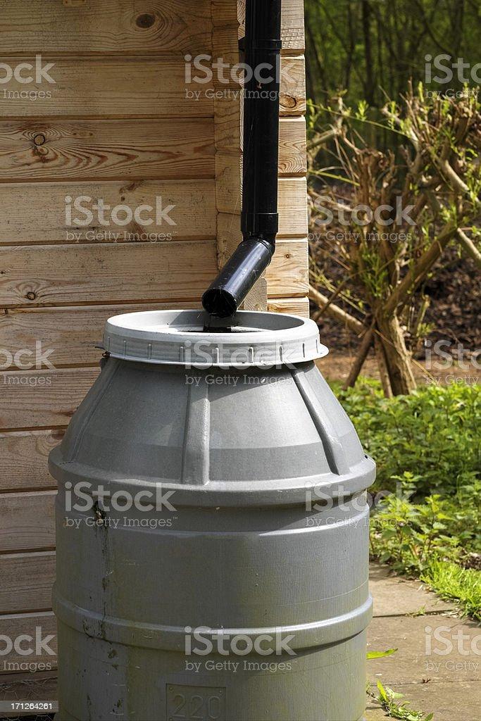 water butt stock photo