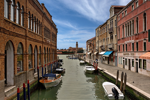 Water canal in Murano