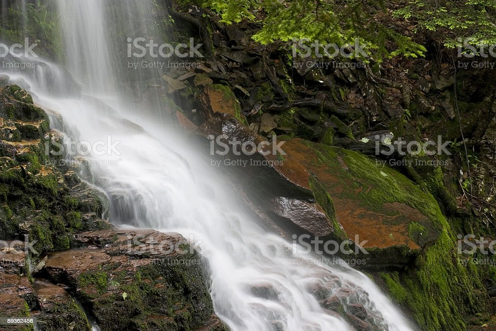 Water Cascade royalty-free stock photo