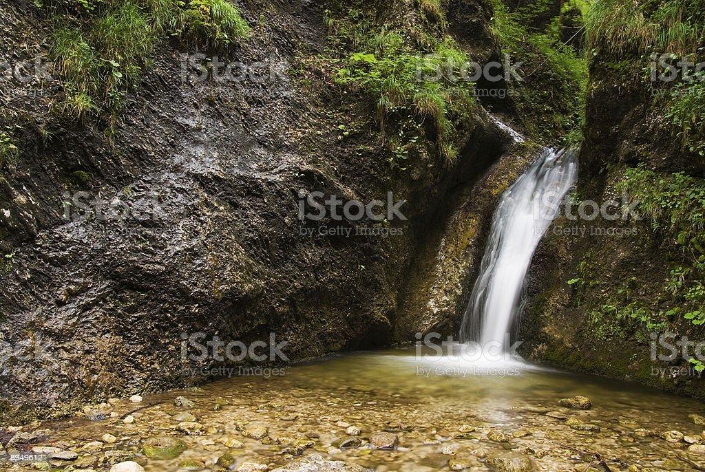 Wody cascade zbiór zdjęć royalty-free