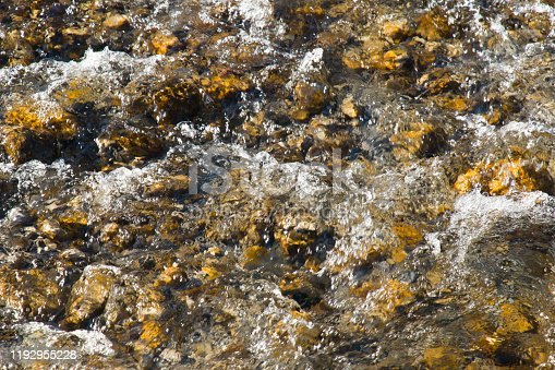 1037450870 istock photo Water cascades over rocks in a riverbed 1192955228