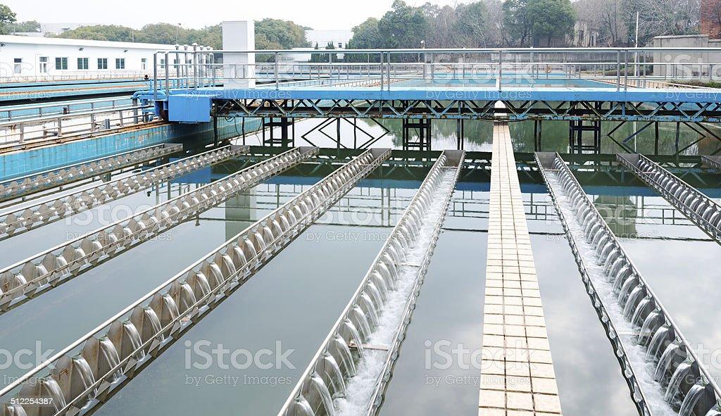 Wasser Reinigung Einrichtung im Freien – Foto