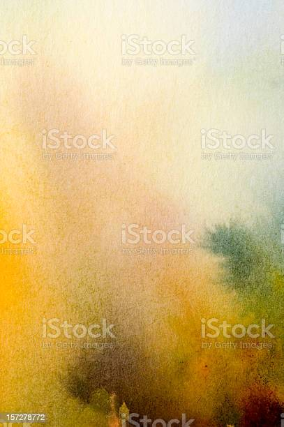 A Water Color Pale Abstract Background Stock Photo - Download Image Now