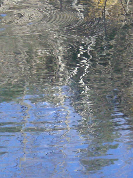 Water Colors & Ripples stock photo