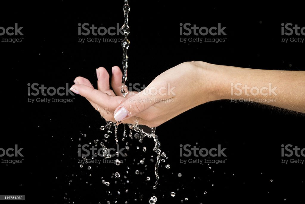 Water conservation royalty-free stock photo