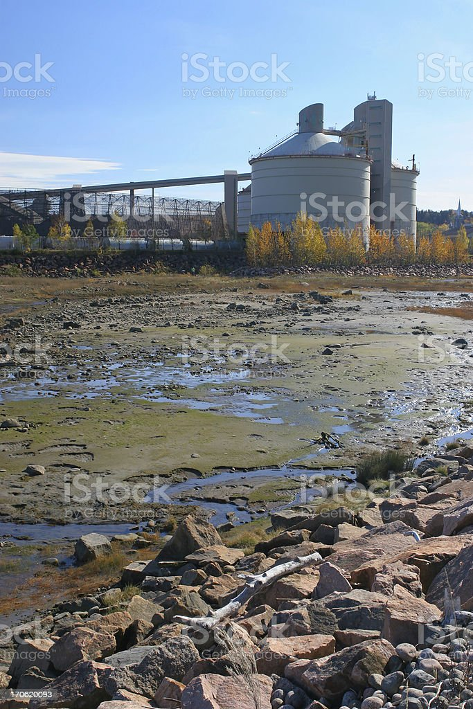 Water Contamination royalty-free stock photo