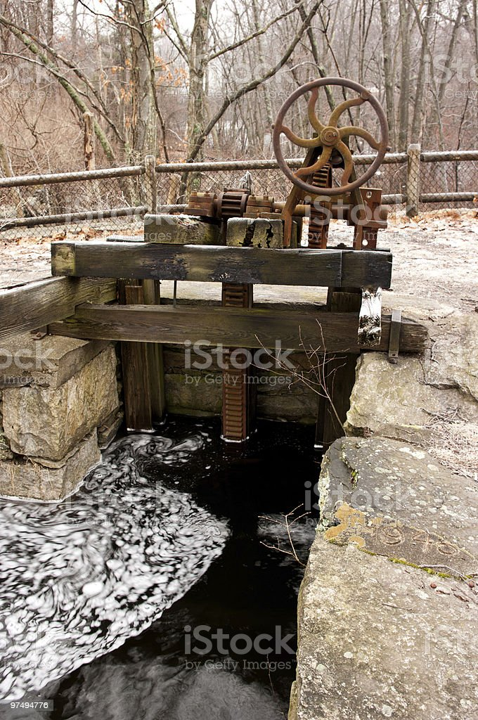 water control royalty-free stock photo