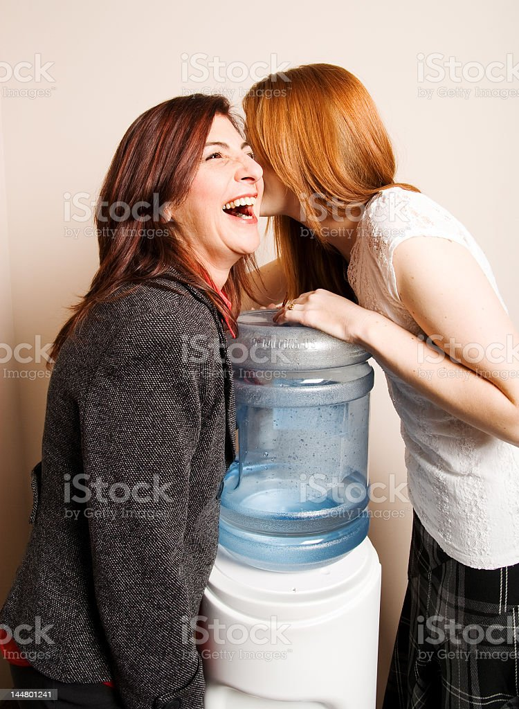 Water Cooler Secrets stock photo