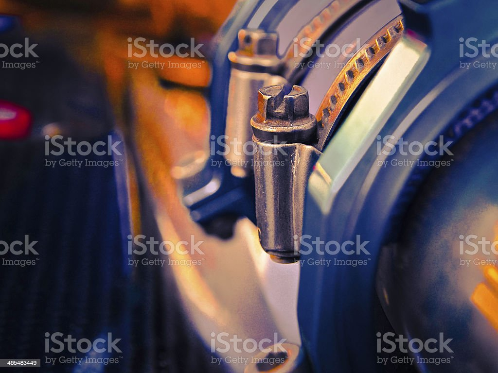 Water cooler system stock photo