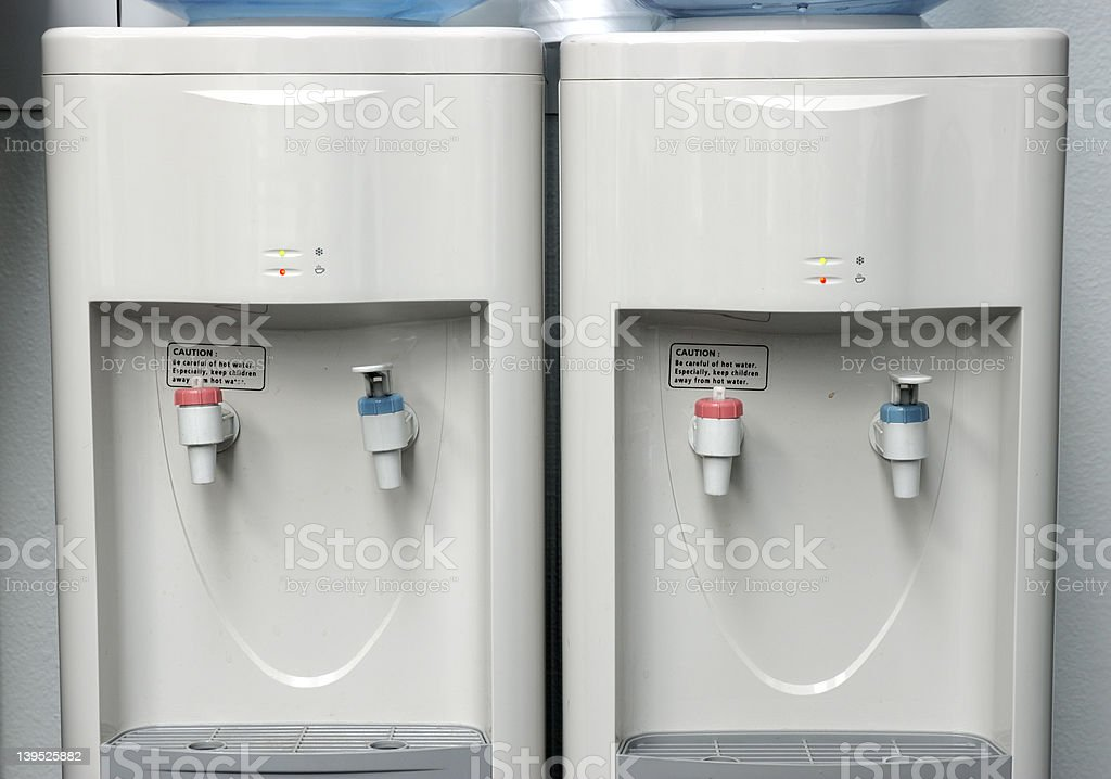 Water coolers stock photo