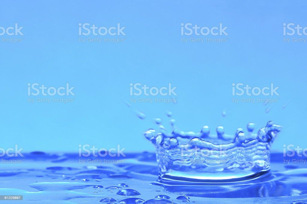 Water Corona 1 stock photo