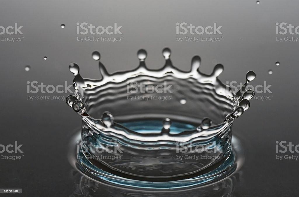 water corona royalty-free stock photo