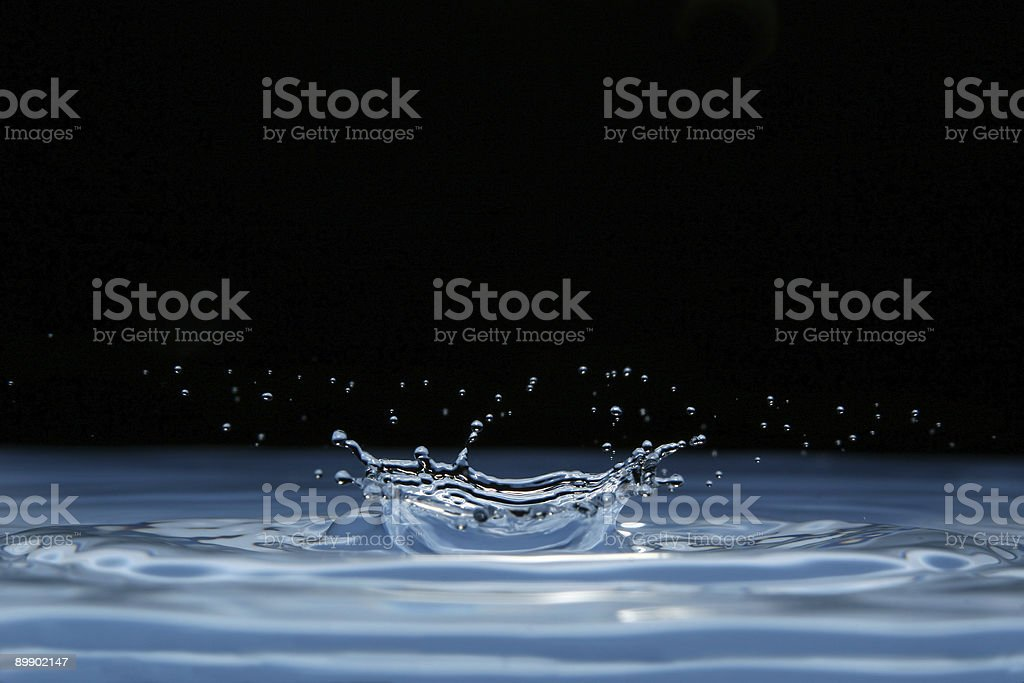 water crown royalty-free stock photo