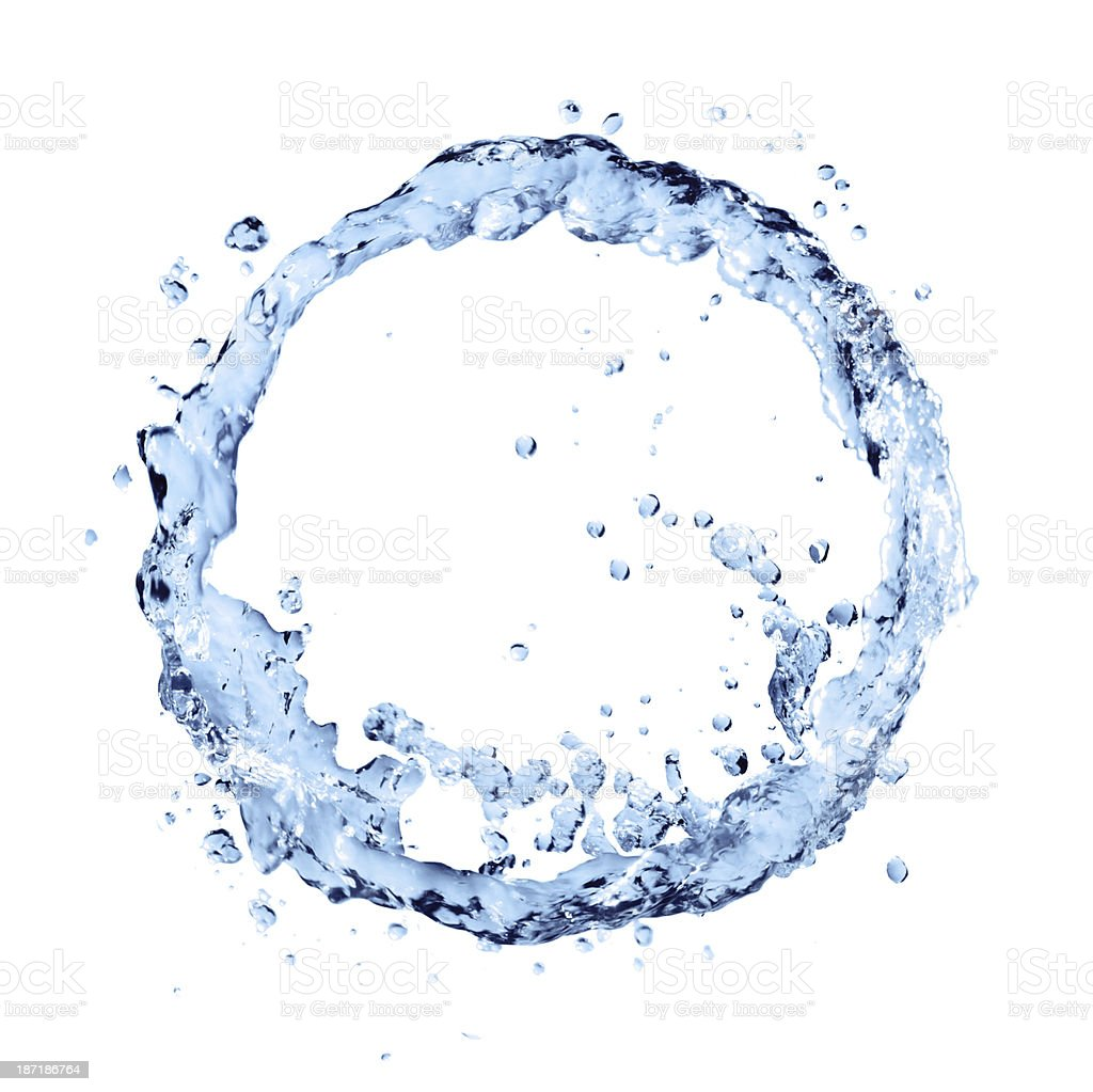 water cycle stock photo