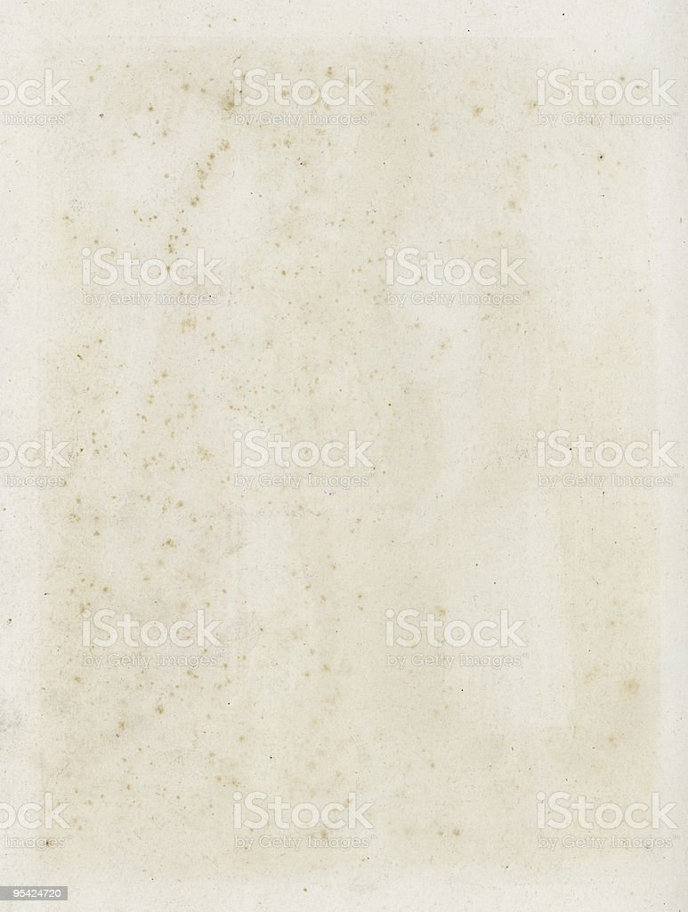 Water damaged paper royalty-free stock photo