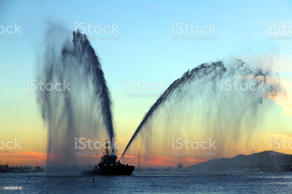 Water Dance stock photo
