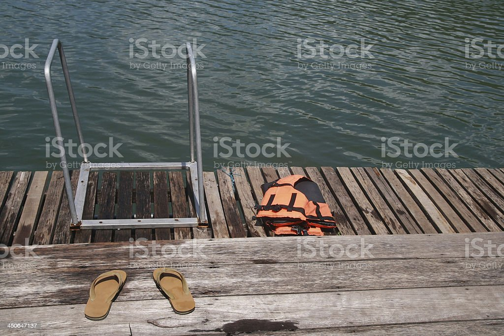 water dock royalty-free stock photo