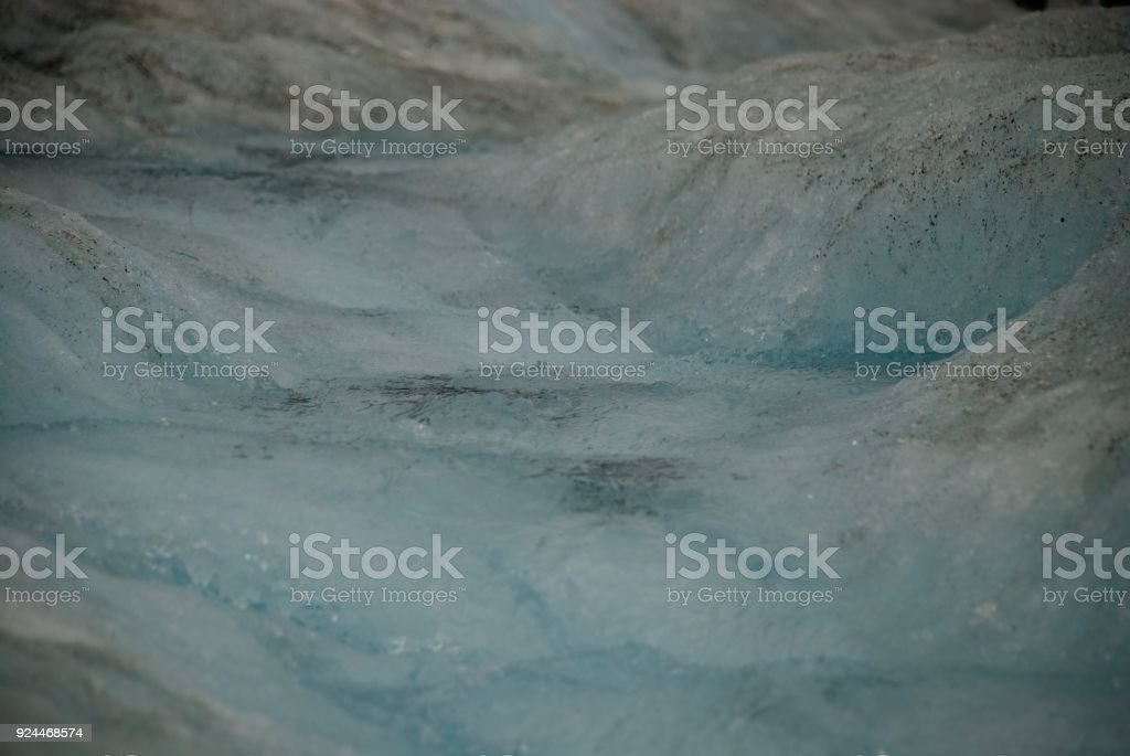 Water Down The Glacier stock photo